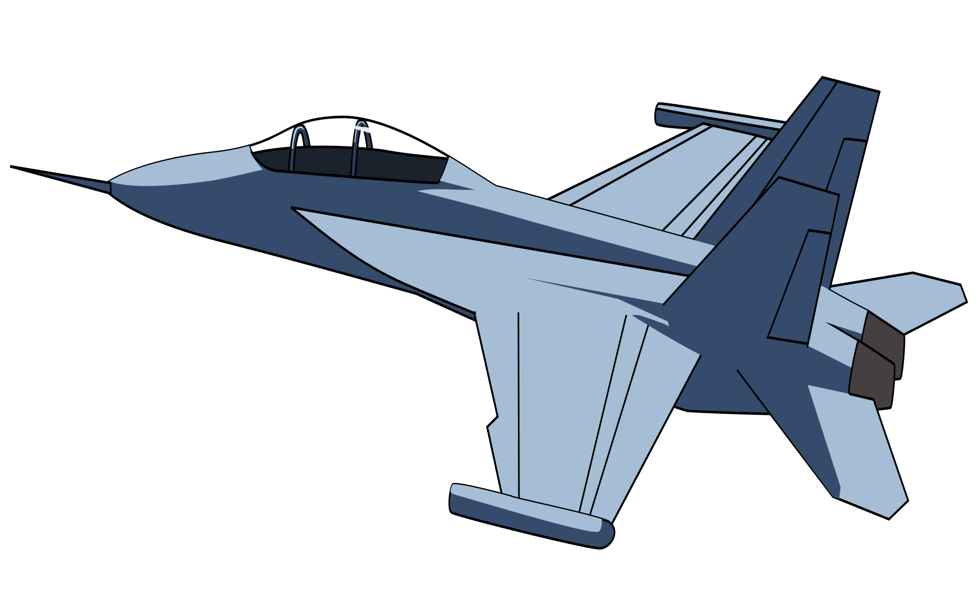 vector library library Aircraft Clipart jet