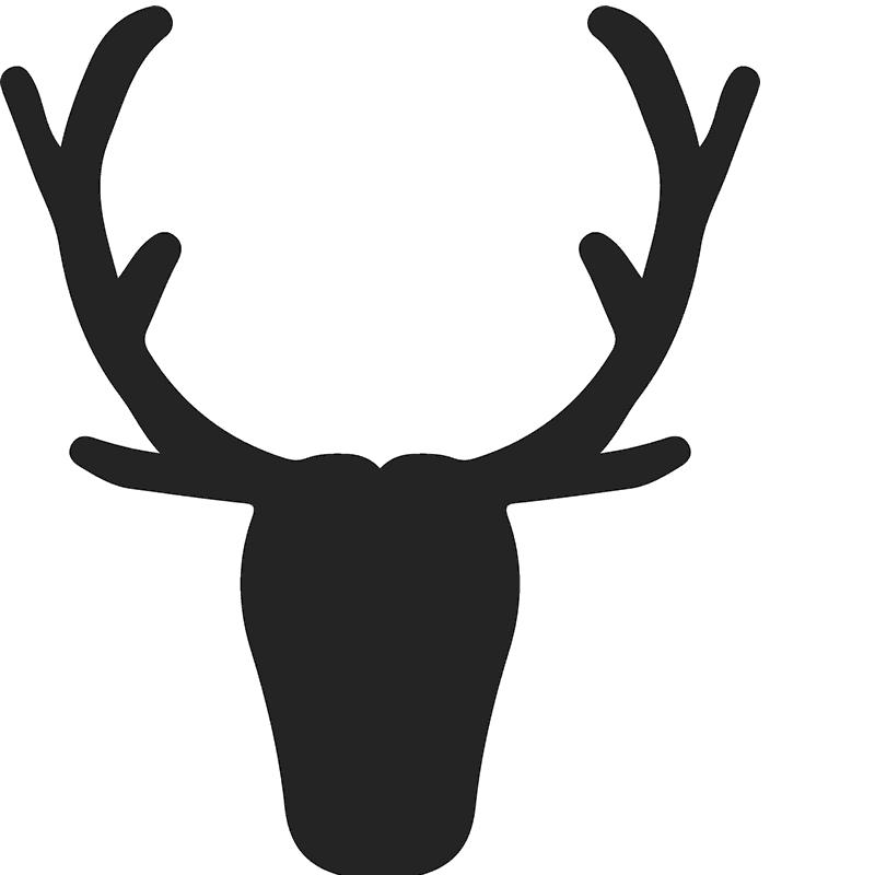 picture library Elk Antler Silhouette at GetDrawings
