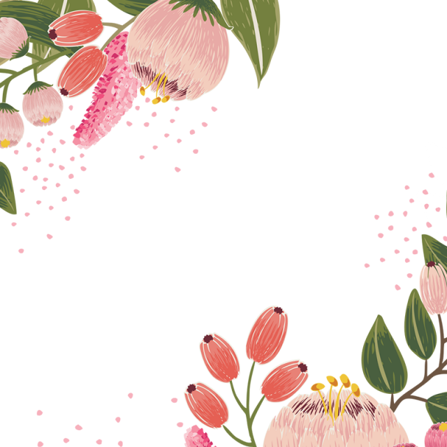 jpg library download Vintage Bloom Flower Vector Design