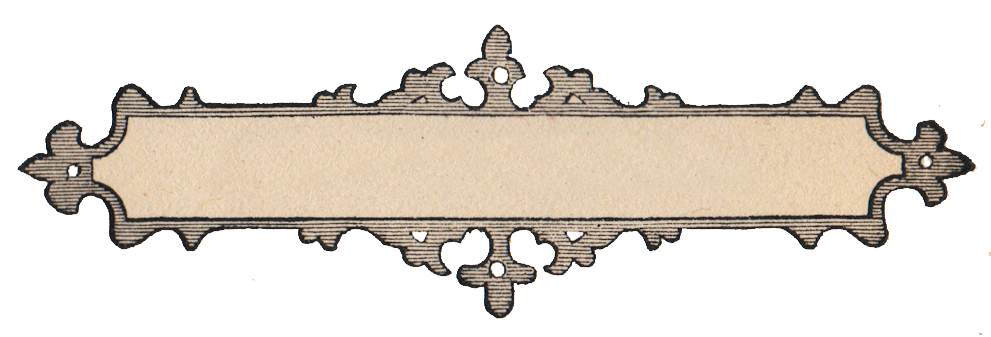 vector library Vintage label clipart. Free clip art ornate