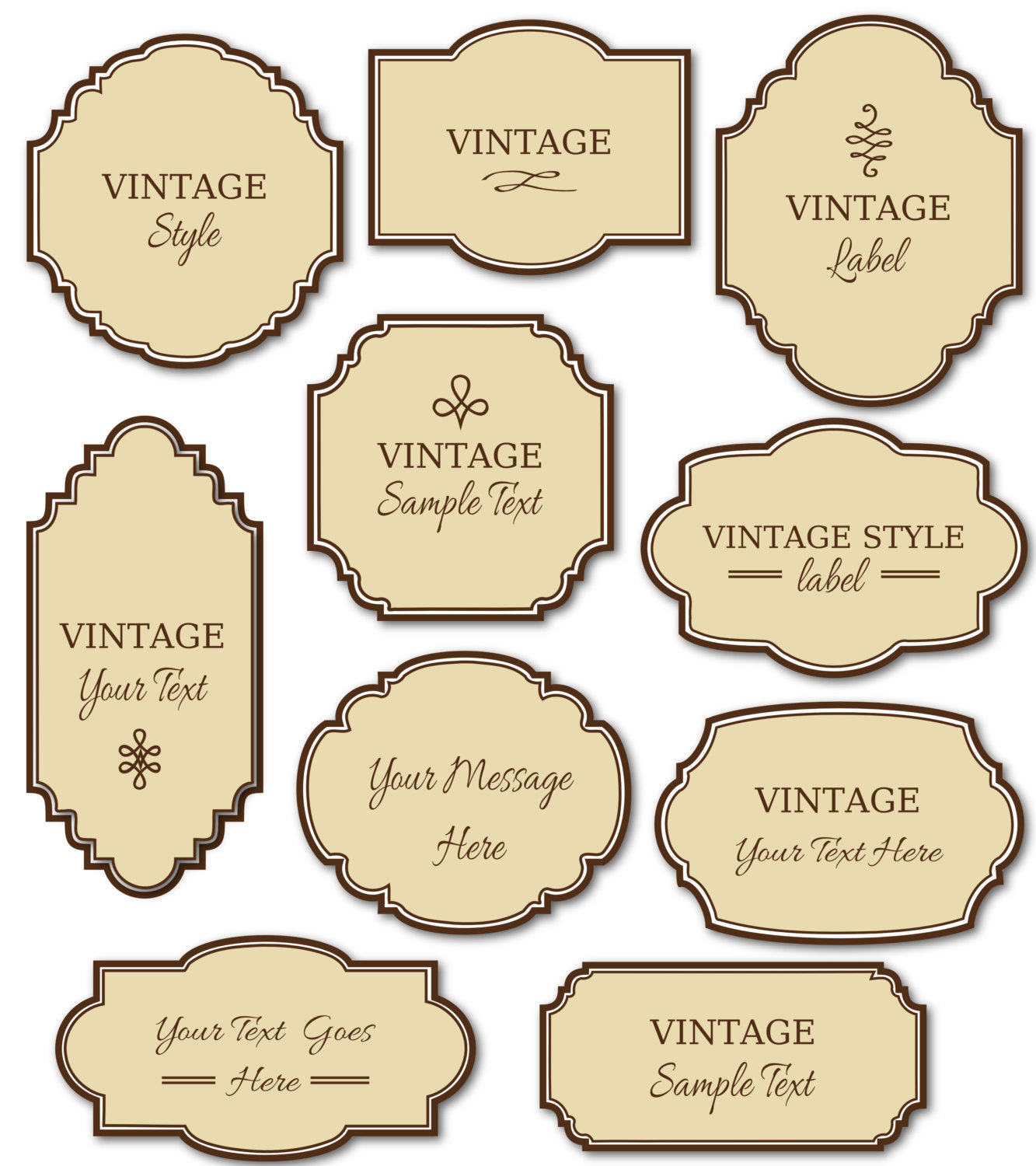 clip art freeuse download Vintage label clipart. Free labels cliparts download