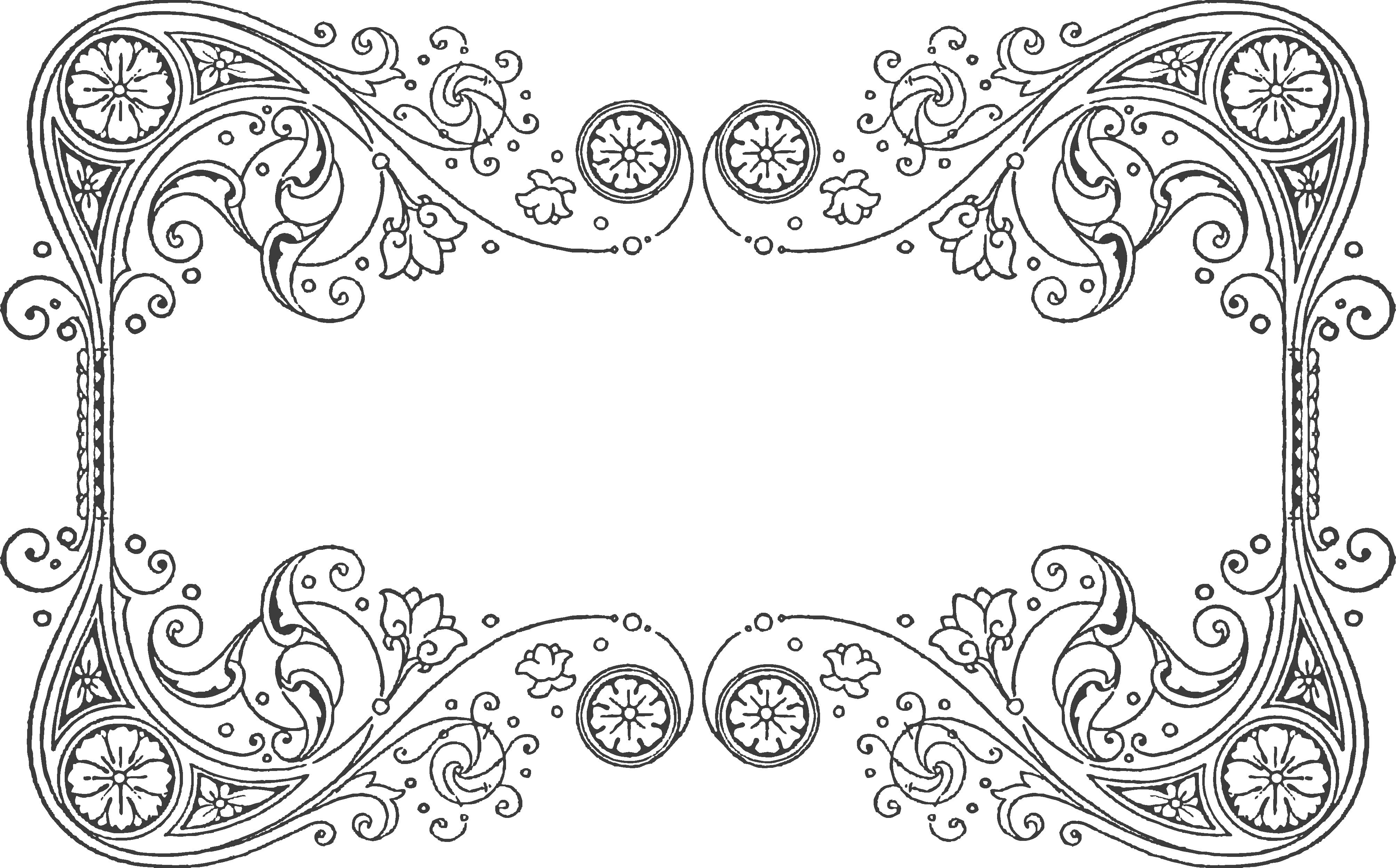 svg freeuse Vintage lace clipart. Quilling design pattern for
