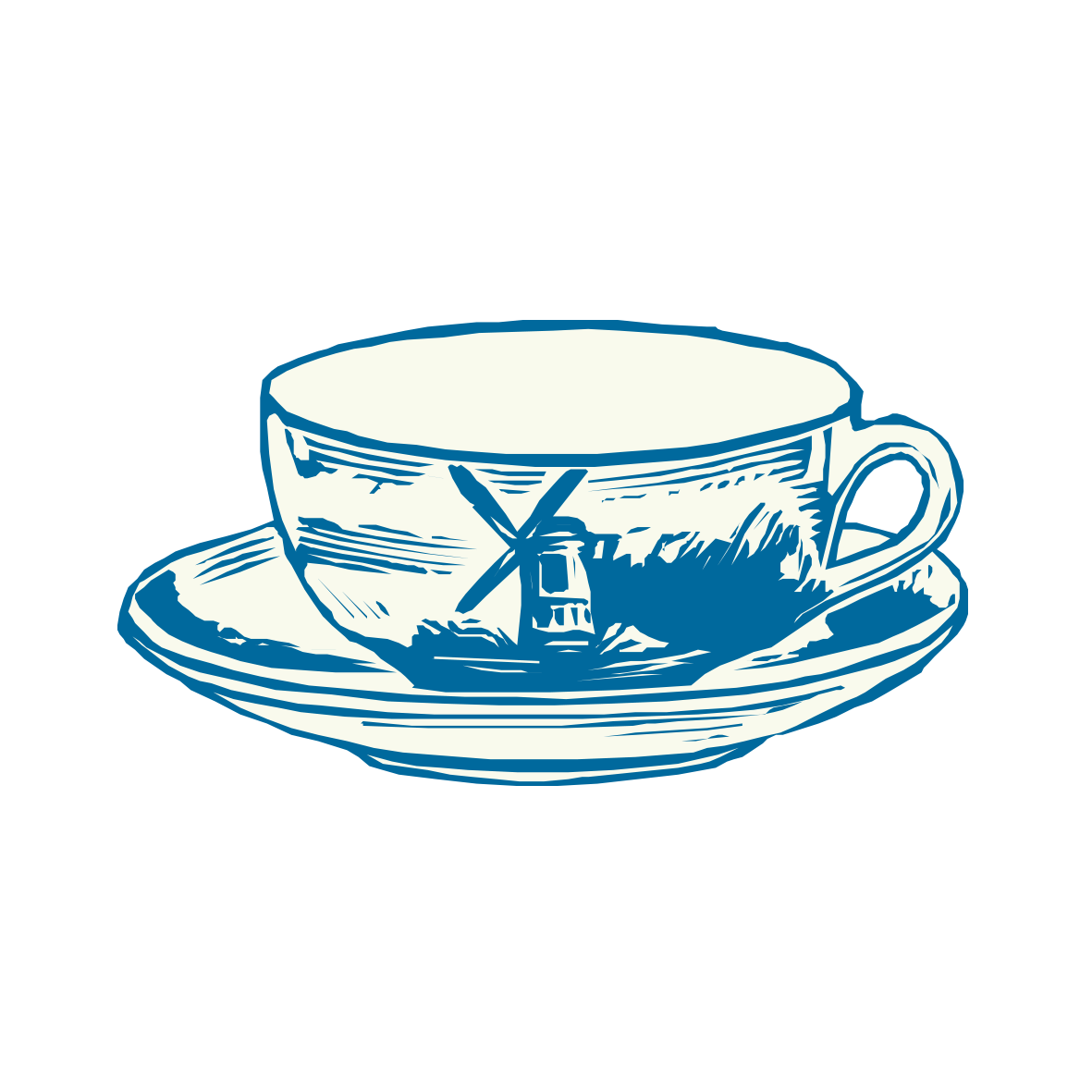 png royalty free Coffee cup clip art. Vintage teacup clipart