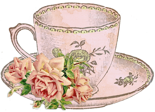 banner free stock Vintage teacup clipart. Http li web ru