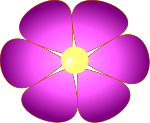 picture library stock Free flower cliparts download. Violet clipart