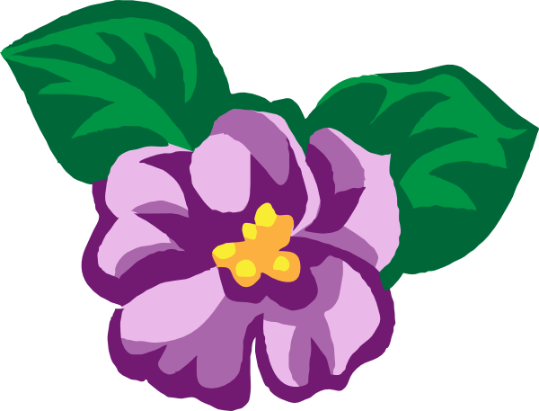 vector freeuse Violet Clipart