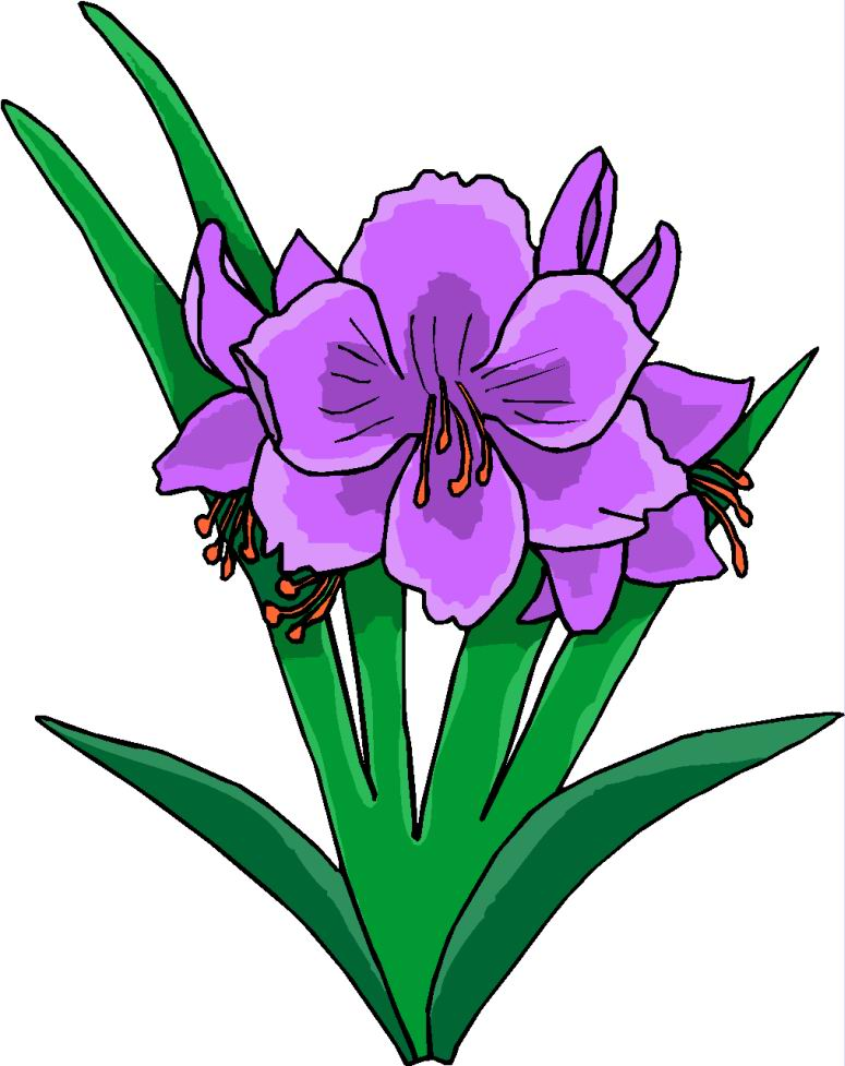vector free stock Free download best . Violet clipart flower plant
