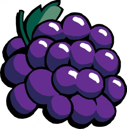 graphic royalty free download Violet clipart grape. Free purple grapes cliparts.