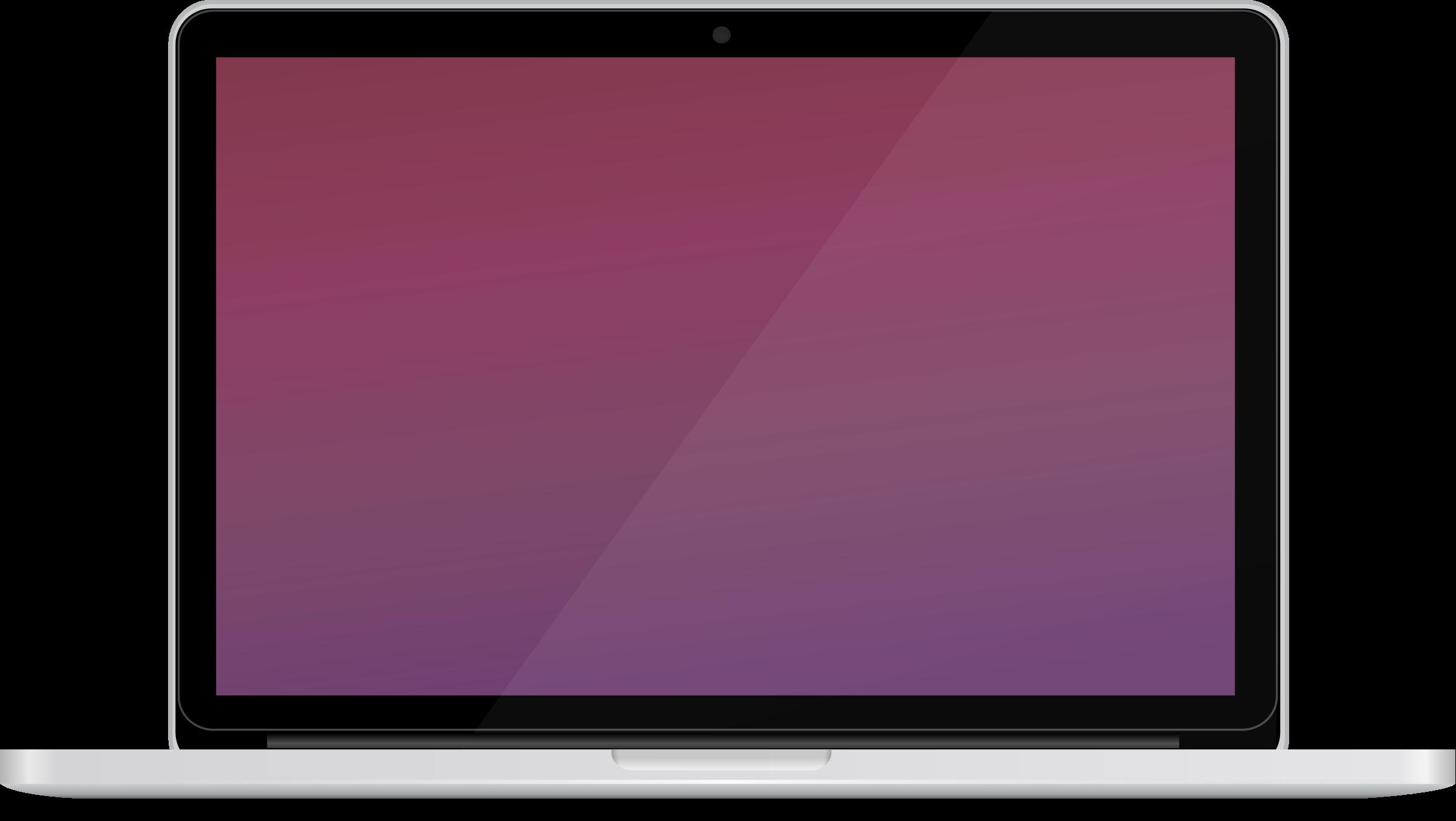 png download Moonbook retina laptop big. Violet clipart notebook