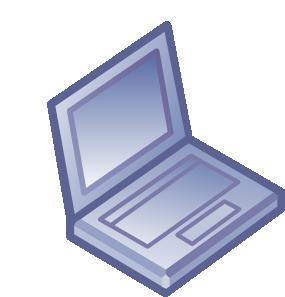 jpg black and white download Netbook laptop clip art. Violet clipart notebook