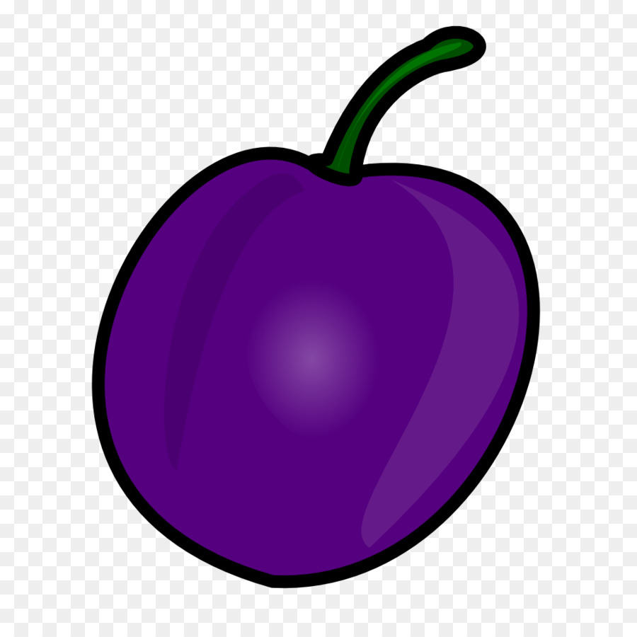 freeuse stock Violet clipart purple food. Apple cartoon fruit transparent