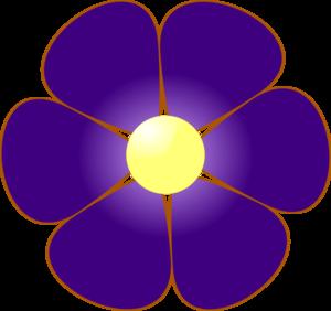 jpg free library Violet clipart violet flower. Clip art at clker.