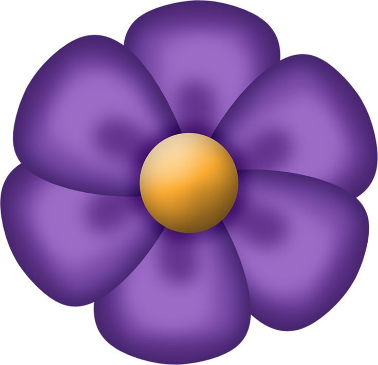 clip free download Free download best on. Violet clipart violet flower.
