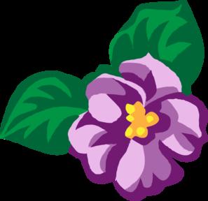 clip free download Violet clipart violet flower. African clip art at