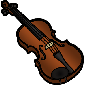 image black and white stock Violin clipart. Violinist instrument orchestra free