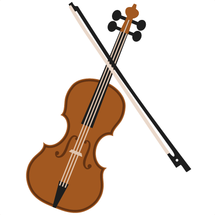 clipart royalty free download Svg scrapbook cut file. Violin clipart
