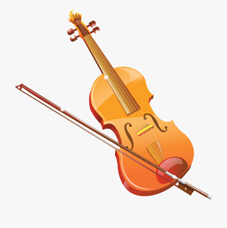 clipart Transparent pencil and in. Violin clipart