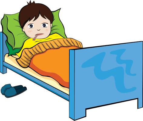 clip art royalty free download Sick kid clipart. The boy health and