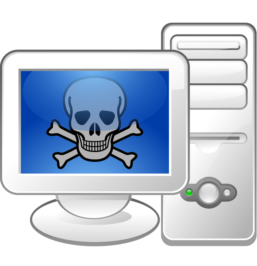 picture freeuse library File malware logo svg. Virus computer clipart