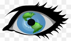 svg black and white library Vision clipart 1 eye. Portal