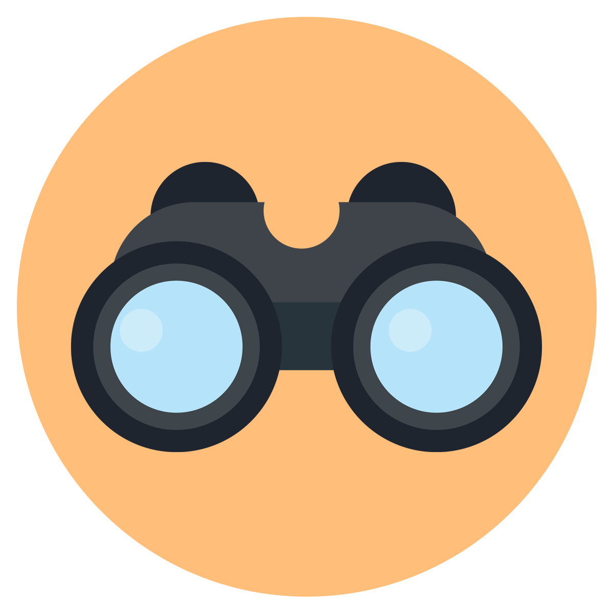 svg transparent Mission and chef tony. Vision clipart binoculars