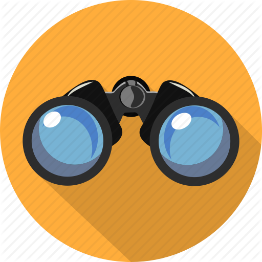 png library stock Vision clipart binoculars. Mixt icoflat by gheata.