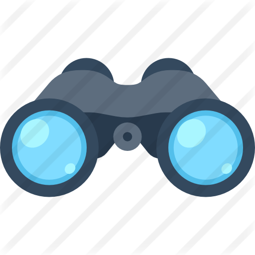 picture black and white Vision clipart binoculars. Binocular png computer icons