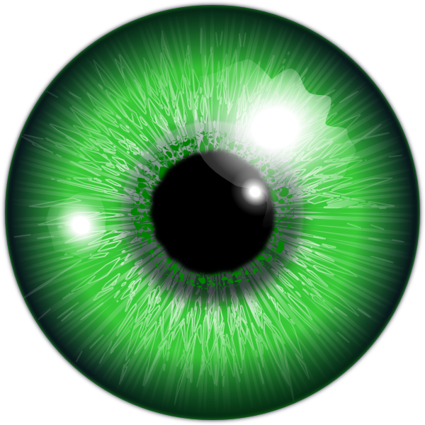 graphic download Green eyes free on. Vision clipart cute eye