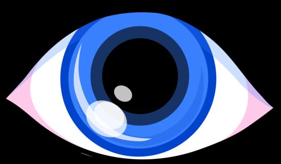 vector royalty free stock Eyeball eye vision clipart