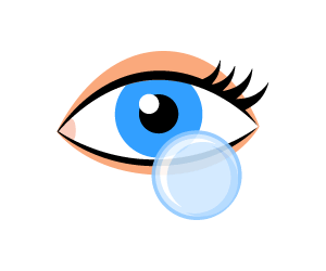 picture library Center contact lenses. Vision clipart eye donation