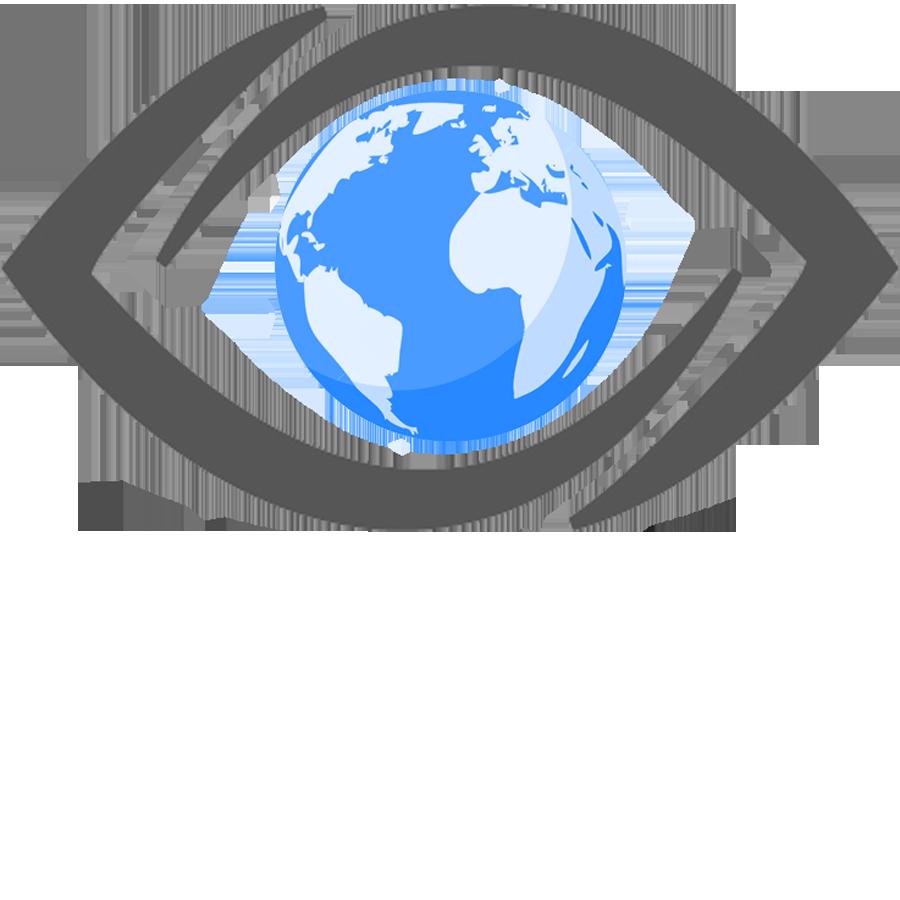 jpg freeuse Vision clipart globe world. Transparent