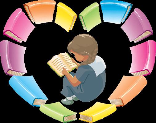 svg transparent Love Reading Books