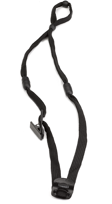 clip transparent stock Accessories and estore lanyard. Vocera clip