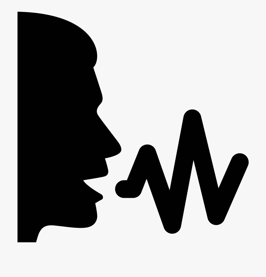 png library Voice clipart. Sound wave human png