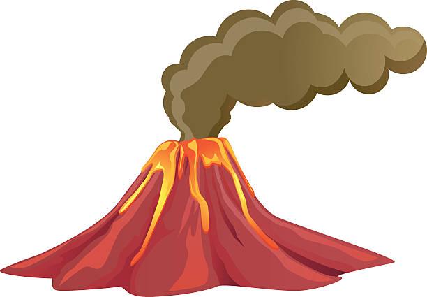 vector library download Volcano clipart. Volcanoes free download best