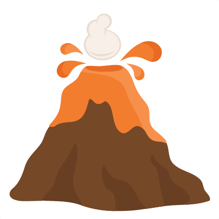 banner transparent download Volcano Clipart hawaiian volcano