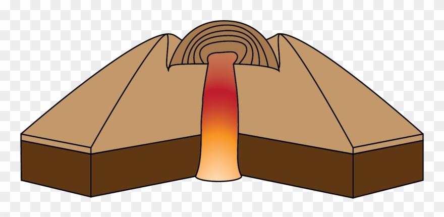 clip freeuse Volcano clipart lava dome. Png download