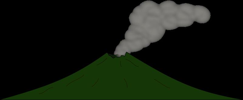 clip art freeuse stock Two free on dumielauxepices. Volcano clipart lava dome