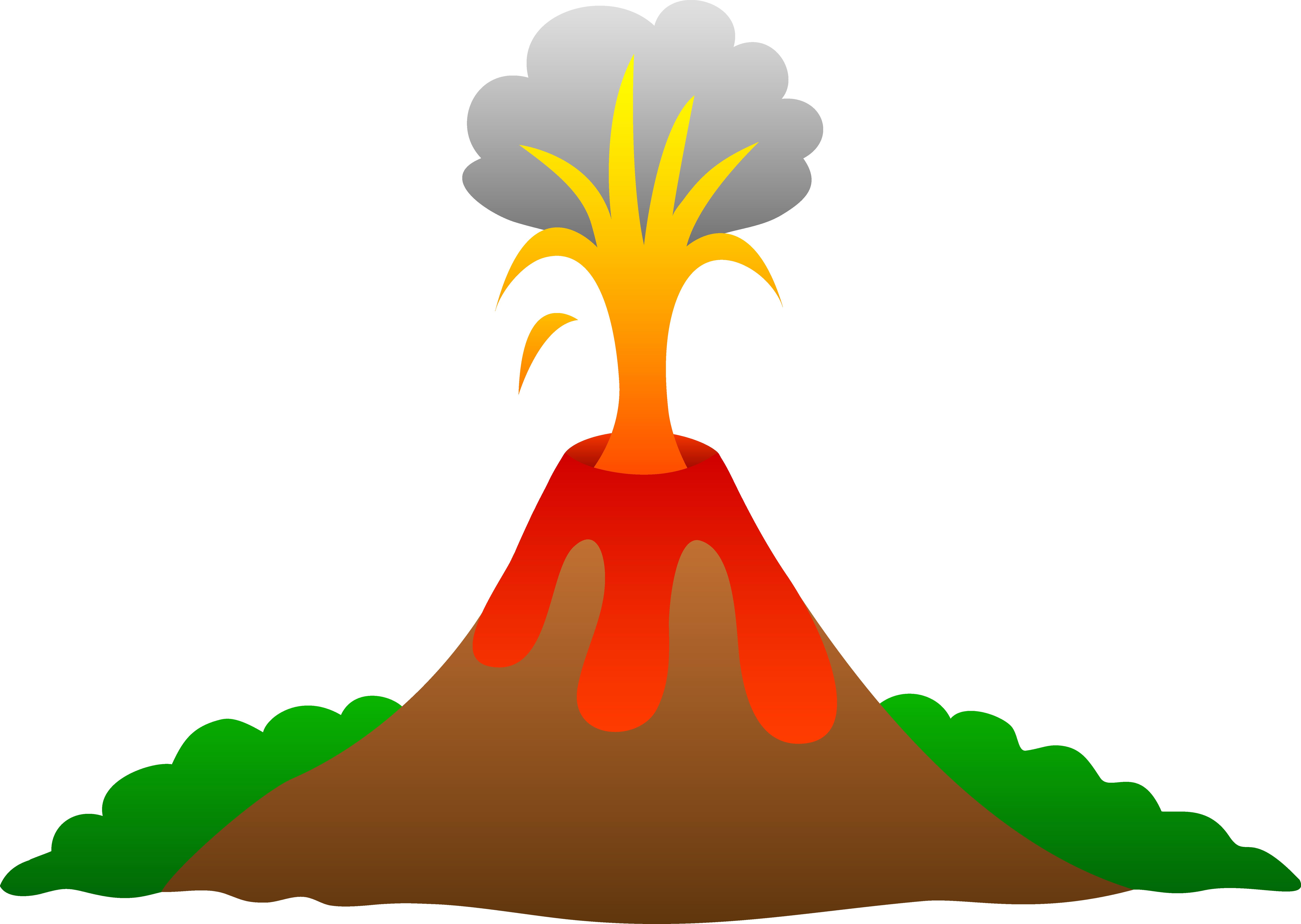 jpg freeuse Volcano Erupting With Lava