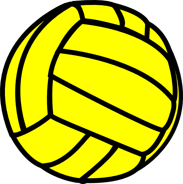 picture transparent stock Volleyball Clip Art at Clker