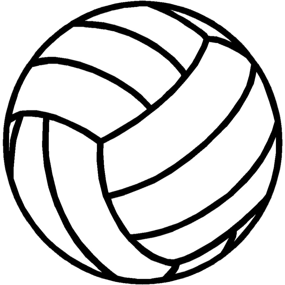 jpg stock Transparent background free on. Volleyball clipart