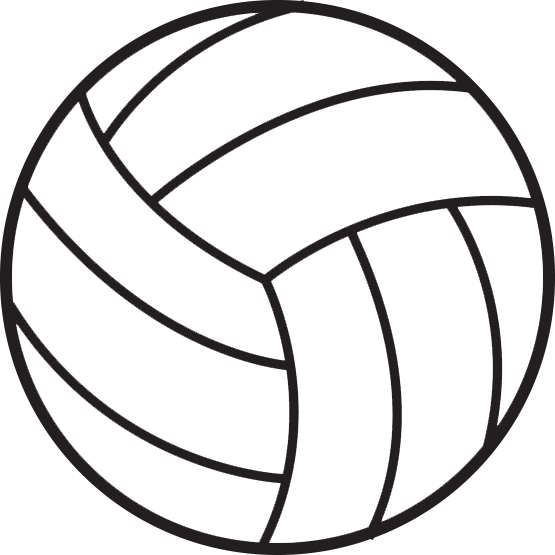 svg royalty free library Volleyball Clipart Transparent Background