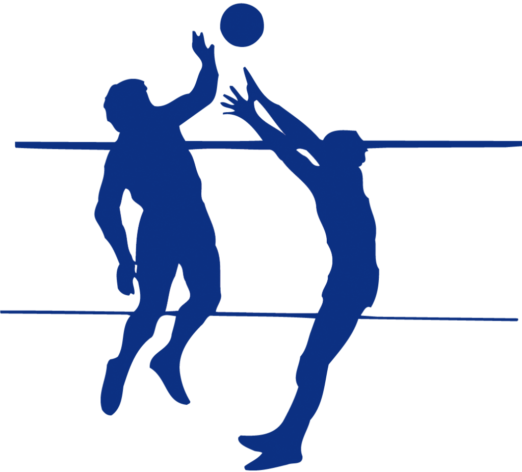 clip art royalty free Volleyball Player Silhouette Clipart at GetDrawings