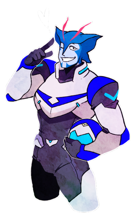 graphic transparent Blaytz the original Blue Paladin of Voltron from Voltron Legendary