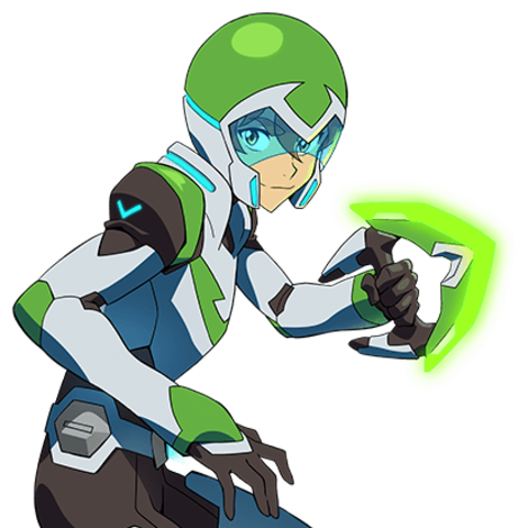 svg freeuse library voltron transparent green paladin #108900230