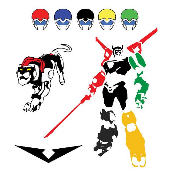 clipart black and white download Svg vectorart dxf circuit. Voltron vector.