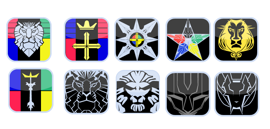 transparent download Voltron vector. Ipad icons by samoht.