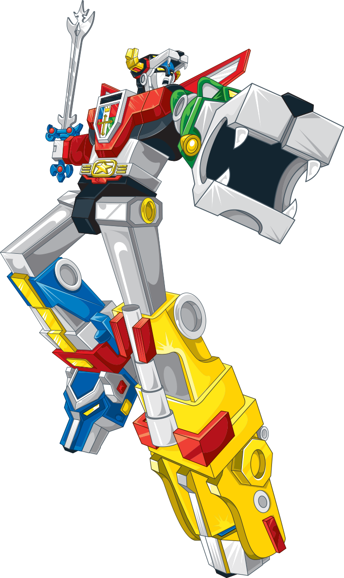 picture royalty free stock Legendary defender the secret. Voltron vector.