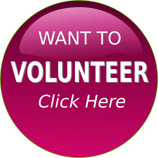 download Volunteer clipart. Purple button clip art