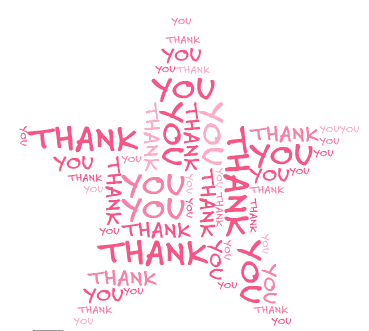 png black and white library The february star award. Volunteering clipart recognition.